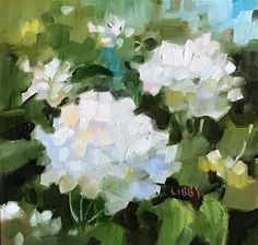 Daily Paintworks - Search through our over Paintings: New Original Fine Art Daily Paintings; Oils, Acrylics, Watercolors, and more from a growing group of Daily Painters Hydrangea Painting, Painting Flowers, Art Flowers, Painting Tips, Flower Art, Daily Painters, Art Daily, Pastel Art, Pictures To Paint
