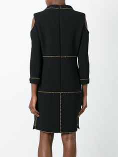 Chanel Vintage платье с декоративными прорезями