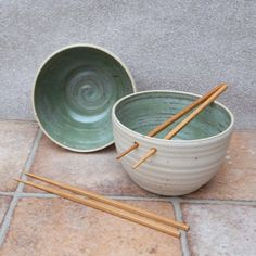 Pair of noodle bowls ......handmade ceramic stoneware