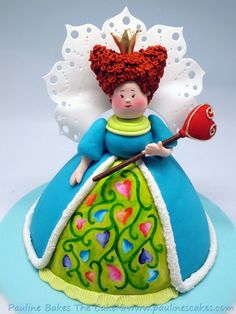 Queen Of Hearts Cake For My Mommy Dearest! by paulinescakes