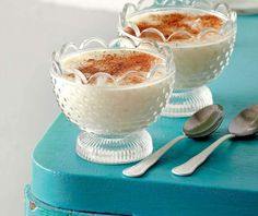 Greek Desserts, Greek Recipes, Greek Rice Pudding, Food To Make, Panna Cotta, Food And Drink, Sweets, Cooking, Ethnic Recipes