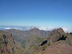 Pido do Arieiro, Madeira Portugal (Luglio)