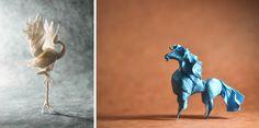 Umělec+dokáže+dovedně+složit+kus+papíru+v+neuvěřitelné+origami+zvířat