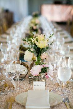 Gorgeous California Wedding at Viansa Winery from  Arrowood Photography - wedding centerpiece idea