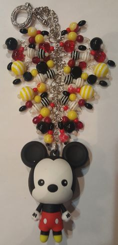 Mickey Mouse Purse Charm   available at www.etsy.com/shop/magic365
