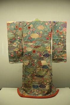 Kimono ancient kimono in the Edo Museum, Tokyo