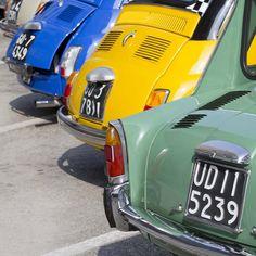 le Fiat 500 e la Bianchina