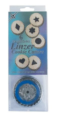 R & M 1838 International Traditional Linzer Cookie Cutter Set R & M International Group, us kitchen, RMINA http://www.amazon.com/gp/product/B0011YQR6U/ref=as_li_tl?ie=UTF8&camp=1789&creative=390957&creativeASIN=B0011YQR6U&linkCode=as2&tag=wonderfulrota0010-20&linkId=LIS6GJ6SMLEPGGEL