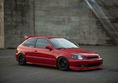 Civic Jdm, 2000 Honda Civic, Honda Civic Hatchback, Honda Crx, Ek Hatch, Tuner Cars, Jdm Cars, Honda Motors, Japan Cars