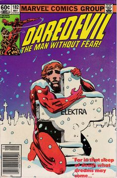 Daredevil 182 May 1982 Issue Marvel Comics Grade by ViewObscura