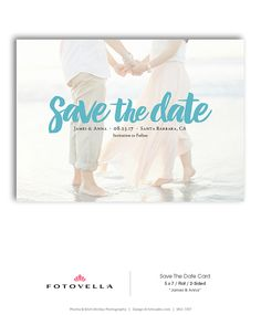 Save The Date Template  Wedding Announcement Card  by FOTOVELLA Save The Date Templates, Wedding Templates, Announcement Cards, Wedding Announcements, Postcard Layout, Photo Layouts, Save The Date Cards, Dating, Photoshop