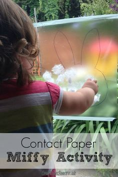 Contact Paper Miffy Activity