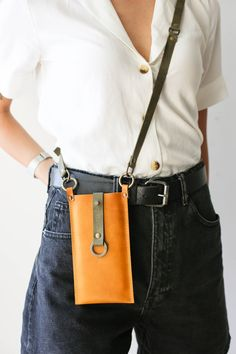 Leather Gifts For Her, Leather Bags Handmade, Thick Leather, Small Leather Goods, Personalized Gifts For Her, Leather Phone Case, Custom Leather, Leather Accessories, Leather Purses