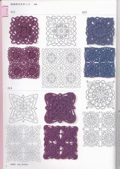 crochet and more by simo: UNCINETTO: CROCHET PATTERNS