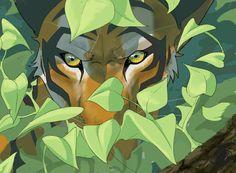 Jasmine tiger