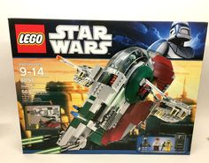 LEGO STAR WARS 8097 SLAVE 1 COMPLETE SET NEW IN BOX FACTORY SEALED RETIRED