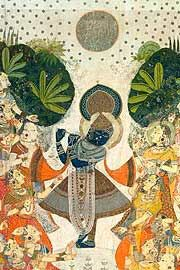 Krishna and gopikas