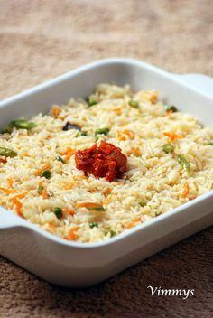 Vegetable Pulav (Kerala Style)