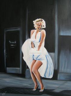 MARILYN MONROE by garnsrj on deviantART   | This image first pinned to Marilyn Monroe Art board, here: http://pinterest.com/fairbanksgrafix/marilyn-monroe-art/ || #Art #MarilynMonroe