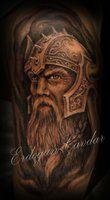 viking warrior tattoo by ErdoganCavdar Schulterpanzer Tattoo, Norse Tattoo, Tattoo Motive, Tatoo Art, Celtic Tattoos, Samoan Tattoo, Polynesian Tattoos, Viking Tattoos For Men, Viking Warrior Tattoos