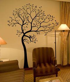 Tree wall painting