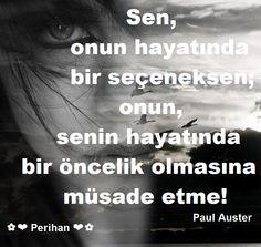 ✿ ❤ Perihan ❤ ✿ Paul Auster...