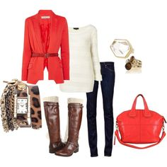 Cute fall outfit idea   # Pin++ for Pinterest #