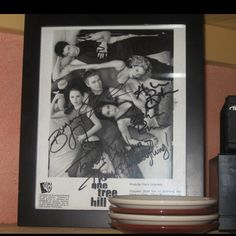 One tree hill. The autographed photo at port city java