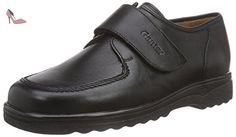 Ganter  ERIC, Weite G, pantoufles garçon - Noir - Noir (0100), 38,5 EU - Chaussures ganter (*Partner-Link)