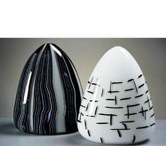 """Whale"" (L) and ""Sumi-e"" (R) by Nancy Callan, 2003"