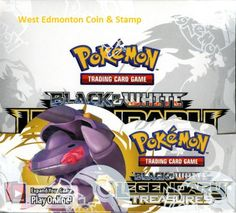 POKEMON BLACK AND WHITE LEGENDARY TREASURES BOOSTER BOX - 36 PACKS - 10 CARDS PER PACK  #Pokemoncards  $200.00