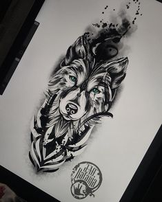 90 Geometric Loup Tattoo Designs For Men – Idées Manly encre Tribal Back Tattoos, Tribal Wolf Tattoo, Wolf Tattoos Men, Wolf Tattoo Sleeve, Arrow Tattoo, Best Sleeve Tattoos, Viking Tattoos, Lion Tattoo, Tattoos For Guys
