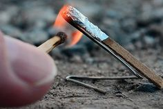 How to turn a match into a tiny rocket! Time: 10 minutes. Cost: $3