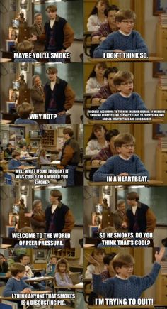 Boy Meets World | Eric was always a genius, he just didn't always show it.