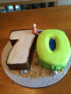 70th Birthday fishing cake