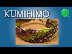 Pulsera plana degradado | Kumihimo | Tutorial Es.Pandahall.com - YouTube