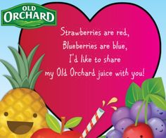 Mix it up and make a punch with a 2nd bottle of Old Orchard Juice for FREE