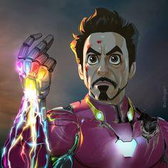 "Time to post the ""spoiler"" version of ""I am Iron Man"" ! Next character would… Time to post the ""spoiler"" version of ""I am Iron Man"" ! Next character would be Th Marvel Avengers, Marvel Comics, Marvel Thanos, Films Marvel, Avengers Film, Marvel Memes, Marvel Characters, Die Rächer, Marvel Heroes"