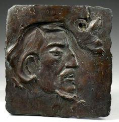 Paul Gauguin (1848-1903) - Autoportrait - Oviri - (1894-95)