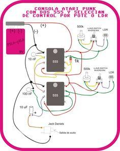 LOS APARATOS: La Atari Punk con dos 555