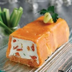 cheese terrine with salmon