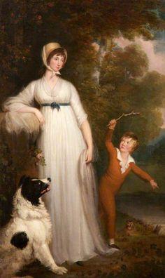 1794 The Athenaeum - Maria Palmer Acland (Samuel Woodforde - )