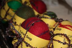 Felted Soap. www.athm.org