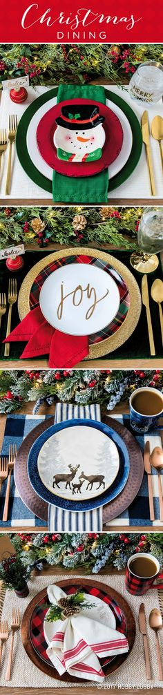 Celebrate the most wonderful time of the year with a fabulous Christmas tablescape!