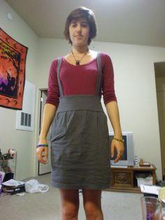 Jumper Skirt Out Of A T Shirt