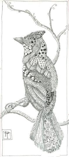 Zentangle Bird