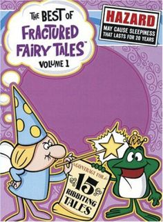 The Best of Fractured Fairy Tales DVD