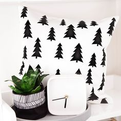 Our Scandinavian Tree cushion covers feature an on trend monochrome colour pallet.  With classic and sophisticated detail mixed with fun and punchy graphics, our cushion covers are suitable for every age.  Handmade by Cotton
