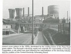 Doughty Road 1950 Old Pictures, Old Photos, Cooling Tower, Retro 2, Willis Tower, Old Town, New York Skyline, Birth, Shed