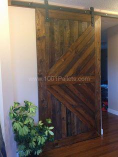 Pallet closet doors
